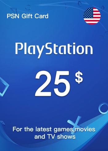 PSN Gift Card 25 USD US