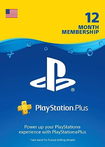 PlayStation Plus 365 Days Membership Gift Card US, mmorc.com