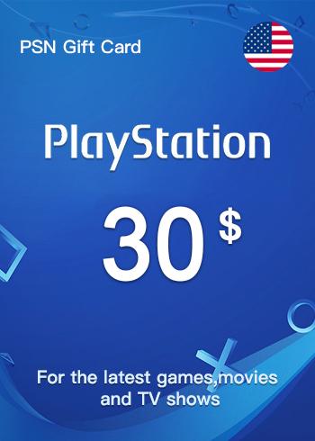 PSN Gift Card 30 USD US