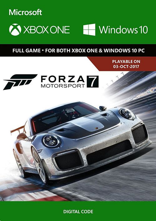 Forza Motorsport 7 Xbox One/Windows 10 Digital Code Global