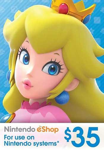 Nintendo eShop Gift Card 35 USD US