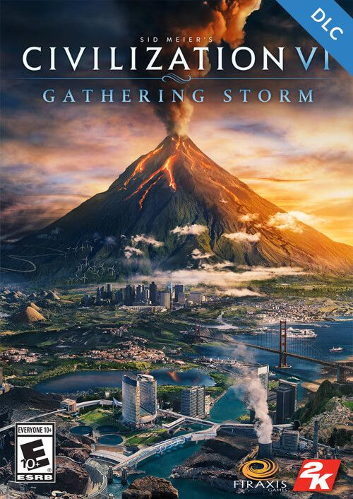 Civilization VI: Gatering Storm Steam Digital Code Europe, mmorc.com