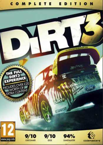 DiRT 3 Complete Edition Steam Digital Code Global