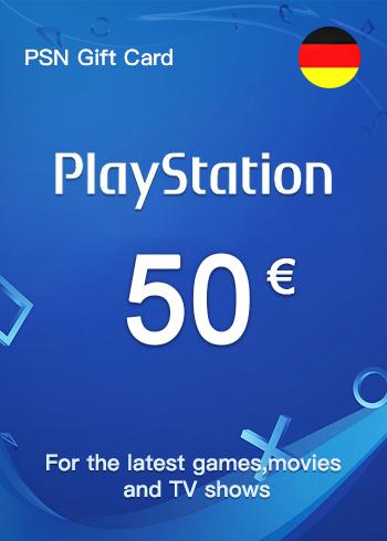 PSN Gift Card 50 Euro Germany