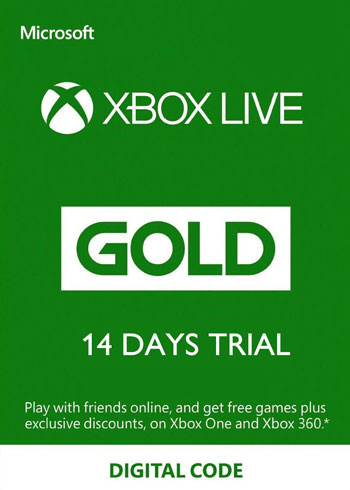 Xbox Live Gold Trial Xbox One 14 Days Key Global, mmorc.com