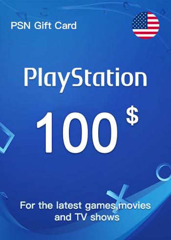 PSN Gift Card 100 USD US