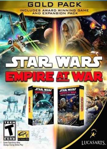 Stars Wars: Empire at War Gold Pack Steam Digital Code Global, mmorc.com