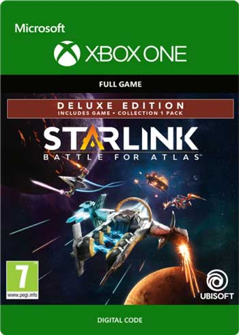 Starlink Battle for Atlas Deluxe Edition Xbox One Digital Code Global, mmorc.com