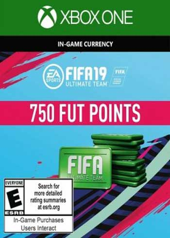 FIFA 19 Ultimate Team 750 Points Xbox One Global