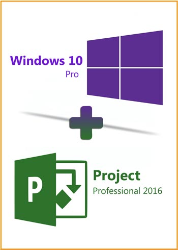 Windows 10 Pro + Project Pro 2016 Key Global Bundle, mmorc.com