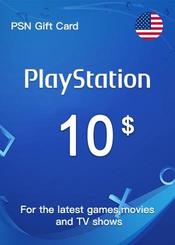 PSN Gift Card 10 USD US