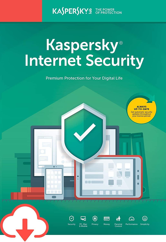 Kaspersky Internet Security 2020 3 Devices 2 Years Multi Digital Code Global