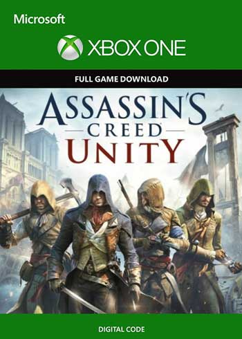 Assassin's Creed Unity Xbox One Digital Code Global, mmorc.com