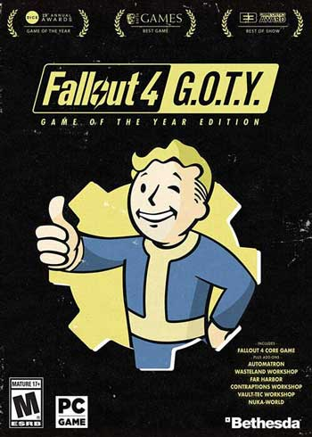 Fallout 4: GOTY Game of the Year Edition Steam Digital Code Global, mmorc.com