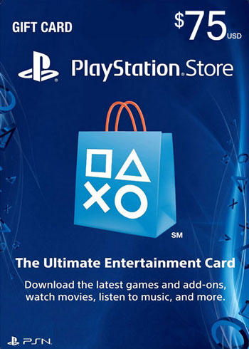 PlayStation Network Gift Card 75 USD US