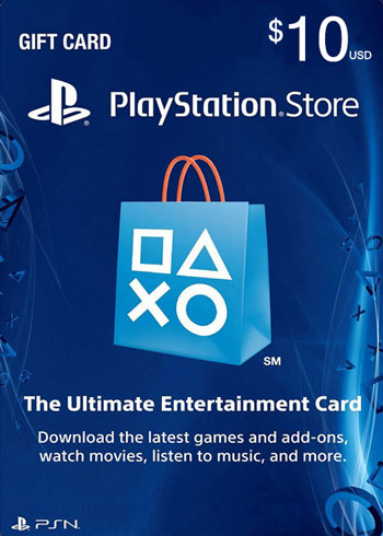PlayStation Network Gift Card 10 USD US, mmorc.com