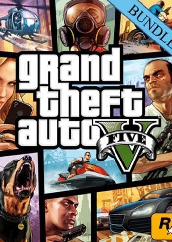 Grand Theft Auto V Great White Shark Card Bundle Rockstar Digital Code Global