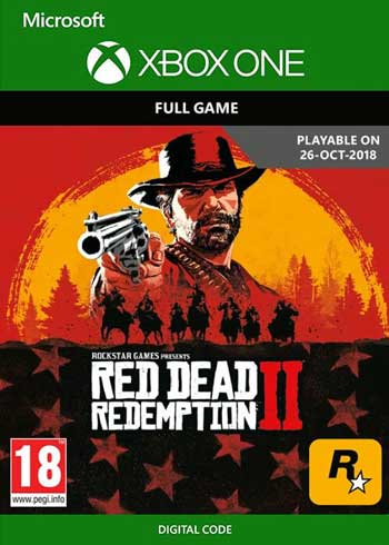 Red Dead Redemption 2 Xbox One Digital Code US, mmorc.com