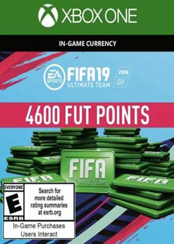 FIFA 19 Ultimate Team 4600 Points Xbox One Global