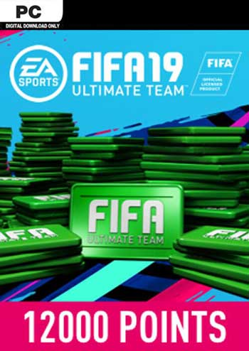 FIFA 19 Ultimate Team 12000 Points Origin Global