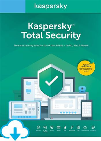 Kaspersky Total Security 2020 3 Devices 2 Years Multi Digital Code Global