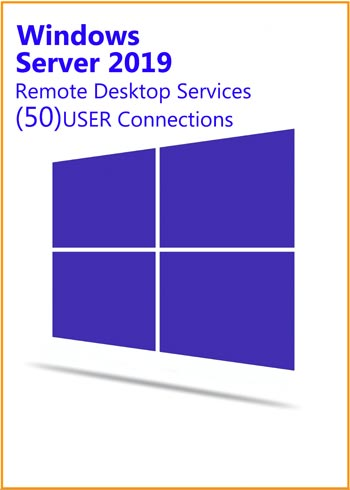 Windows Server 2019 Remote Desktop Services 50 USER Connections Key Global