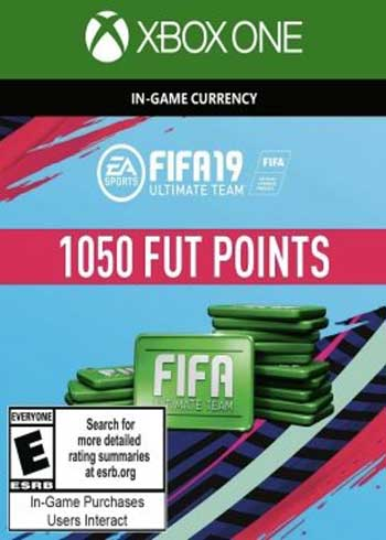 FIFA 19 Ultimate Team 1050 Points Xbox One Global, mmorc.com