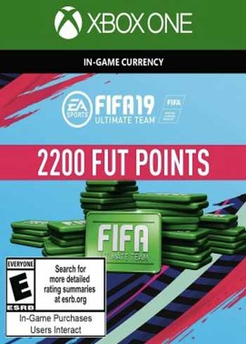 FIFA 19 Ultimate Team 2200 Points Xbox One Global