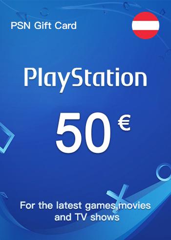 PSN Gift Card 50 Euro Austria