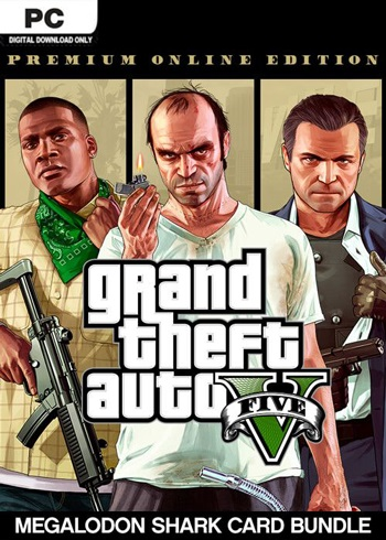 Grand Theft Auto V Premium Online Edition Rockstar Digital Code Global