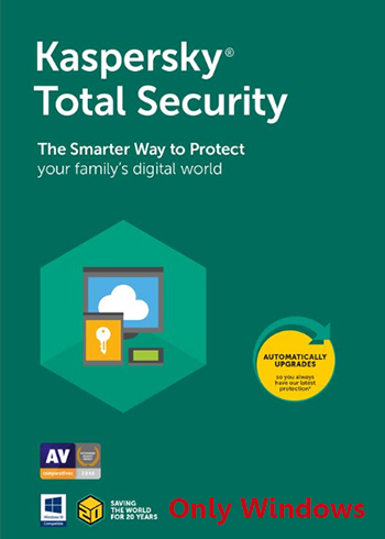 Kaspersky Total Security 2020 5 Devices 1 Year Digital Code Global