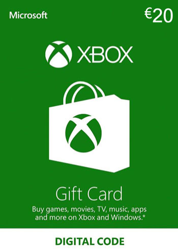 Xbox Live Gift Card 20 Euro Europe, mmorc.com