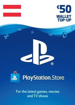 PlayStation Network Gift Card 50 Euro Austria, mmorc.com