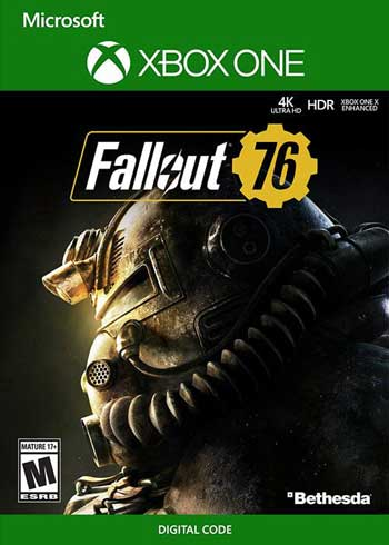Fallout 76 Xbox One CD Digital Code Global, mmorc.com