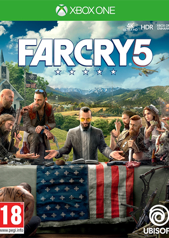 Far Cry 5 Xbox Live Digital Code United States