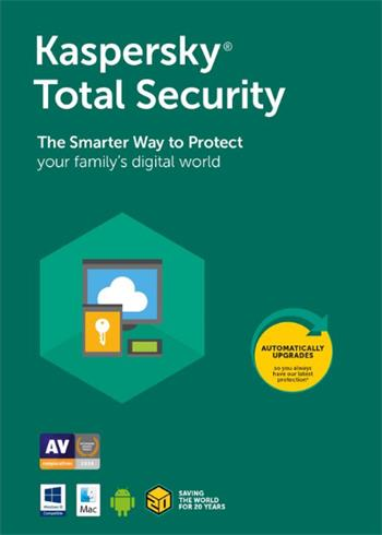 Kaspersky Total Security 2020 Random Device And Year Digital Code