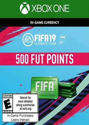 FIFA 19 Ultimate Team 500 Points Xbox One Global, mmorc.com