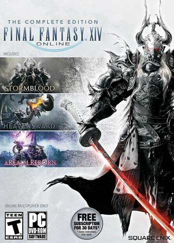 Final Fantasy XIV 14 Online Complete Edition PC Digital Code Europe, mmorc.com