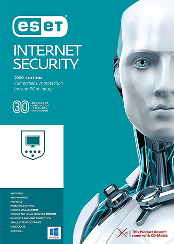 ESET Internet Security 2020 2 Devices 1 Year Digital Code Global