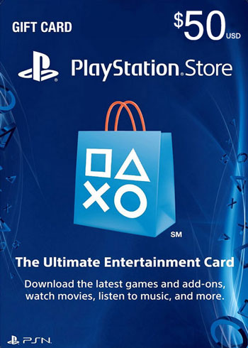 PlayStation Network Gift Card 50 USD US, mmorc.com