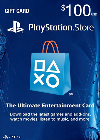 PlayStation Network Gift Card 100 USD US, mmorc.com